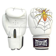 spider man leather boxing gloves