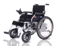Rehabilitation Therapy Supplies folding electric wheelchair aluminum alloy wheel