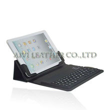 2013 New arrival bluetooth keyboard case for ipad mini with leather book case
