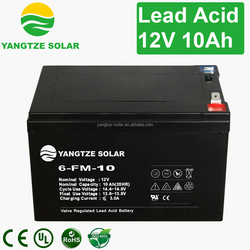 Free shipping12v 10ah small rechargeable battery