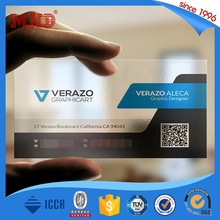 MDP426 credit card size hard plastic business cards