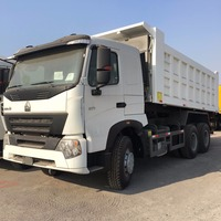 SINOTRUK HOWO Brand 371hp engine 10 wheeler truck load capacity