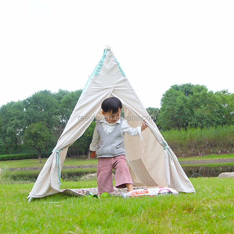 Inclined Roof Kids Portable Outdoor Folding Princess Waterproof Tent Fabric Price Per Meter