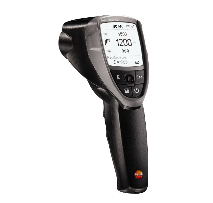 testo 835-T2 - 4 point Infrared Thermometer Order-Nr. 0560 8352