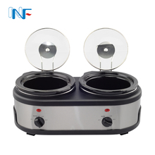 Ceramic 2x2.5l Mini Electrical Appliance Crock Pot Famous Brand Appliances Online Auto Function 2 In 1 Slow Cooker Australia