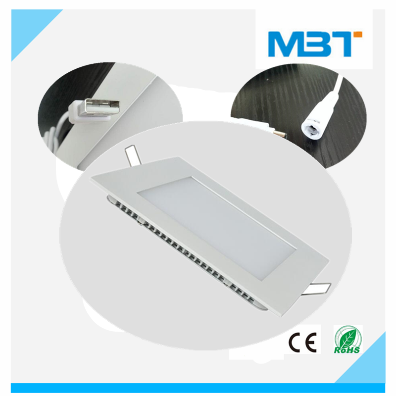 16W 1440Lm panel light led Aluminum housing hole cut size 190mm suitable for home lighting