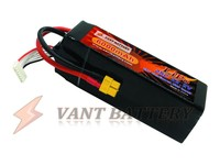 Vant high end lipo RC helicopter battery 22.2V 6000mah lipo rc battery pack 25C For F3C,gaint scale,etc