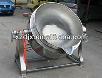 gas cooking jacket tilting kettle with agitator