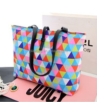 2014 Wholesale New Fashion Environmental Protection Canvas handbag For Promotion TB-B-141114-10