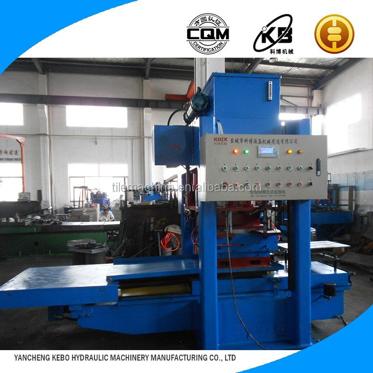 Best selling products KB125E500 floor concrete tile making machine for ecological