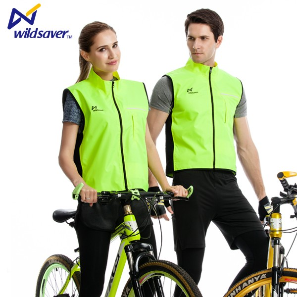 led glow green blueyellow black safety leisure laptop vest reflective