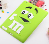 10 Colors in stock customize mobile phone cover silicone phone case for ipad 2