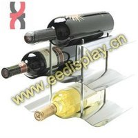 counter top display unit for red wine / grape wine display bottle holder / household wine display rack