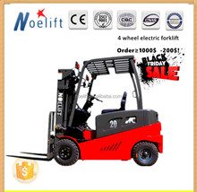 China 48V DC Or AC Battery 3000mm Mast three Wheels Electric Forklift price