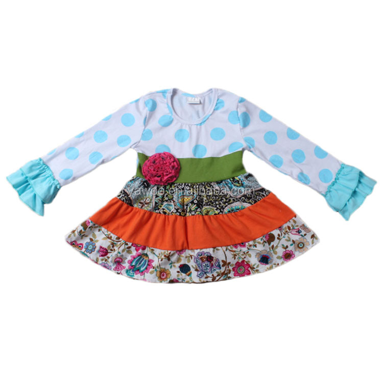 2016 new born baby dress wholesale cheap clothing new style