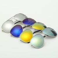 Hot Selling 3025 Metal Aviator Sunglasses
