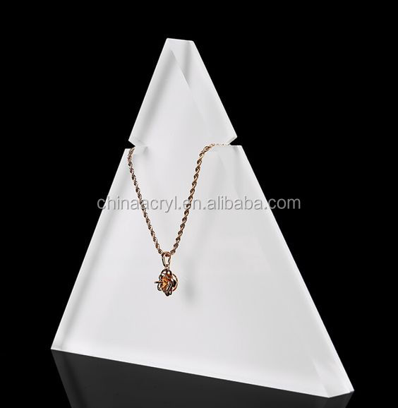 popular design acrylic jewelry display stand shelves manufacture