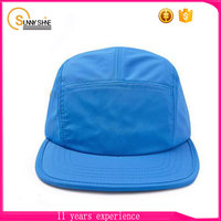 custom flat brim 5 panel hats wholesale