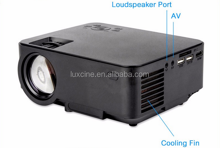 New arrival PTP200S Android 4.4.2 mini led lcd Projector with Miracast WiFi Bluray beamer