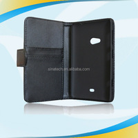 new products 2014Leather Card Slots Folio Wallet Style Flip Case Cover Fits Nokia Lumia 625 Phone, leather bag form china