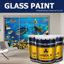 water base glass paint matching use with heat press transfer Sublimation machine