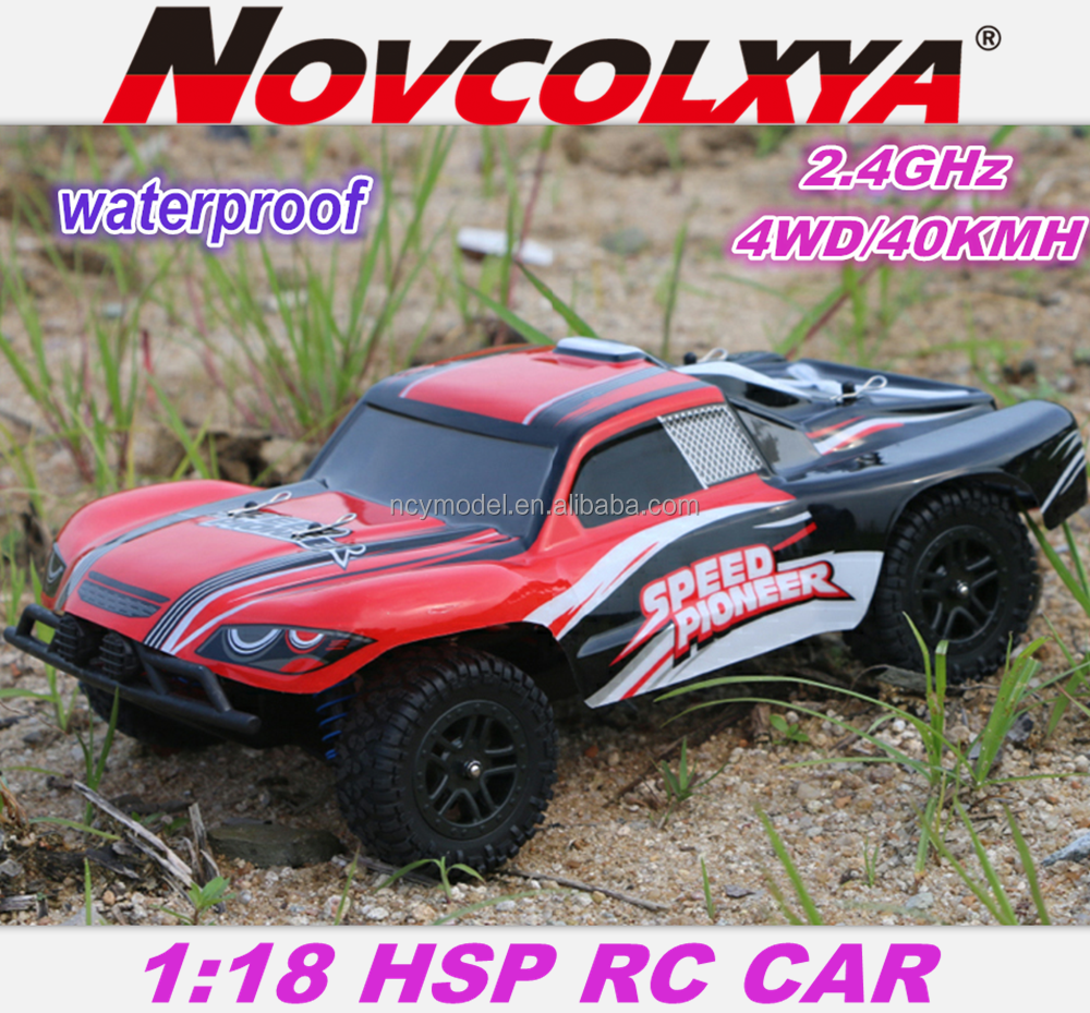 Chenghai Rc Drift car 1:18 Scale 4WD Short Course RC Truck RTR 2.4g Remote Control Car Toys 4x4 Race Off-Road RC Vehicle ,Red