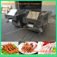 Factory wholesale frozen chicken feet cutter with fast delivery
