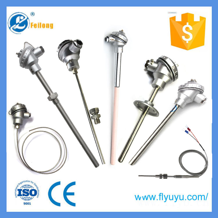 New design thermal power plant temperature sensor K type thermocouple customized accept