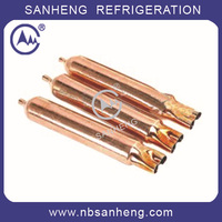 CFD-15 High Quality Refrigerant Welding Filter Drier Three-Way Filter Drier