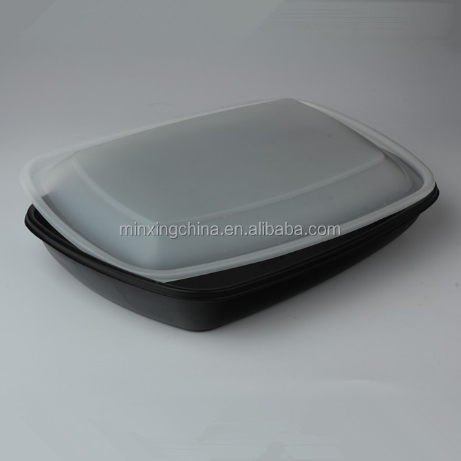 Airline Microvable Heat Seal plastic CPET Tray