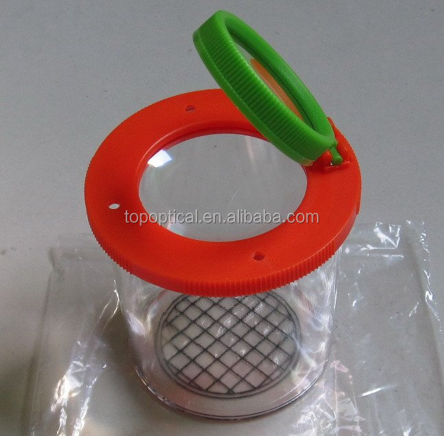 Insect magnifier box, teaching aids for kindergarten