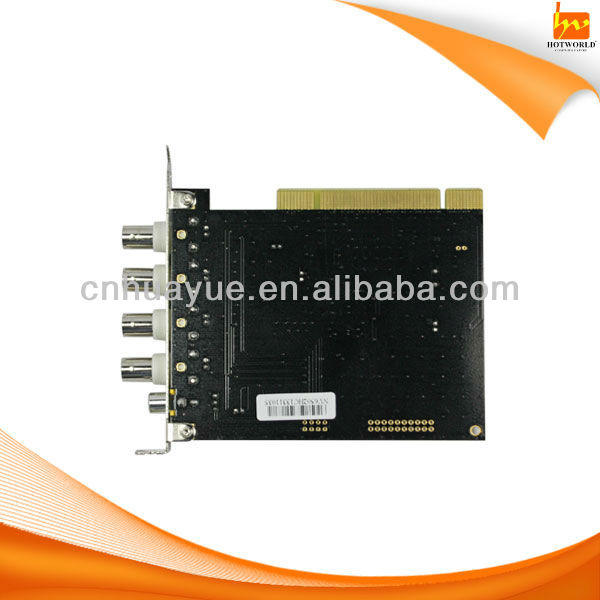 h.264 software compression pc based dvr card techwell 6805