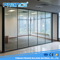 Diversification of modern design glass partition wall for sale