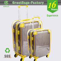 Hot sale new style promotional custom transparent luggage cover