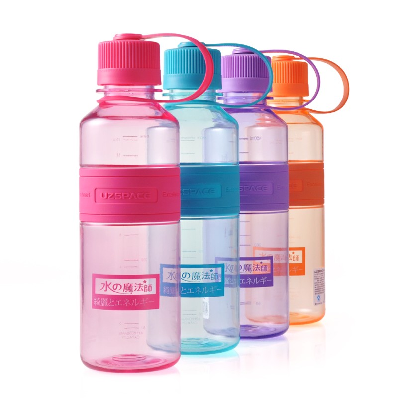 SGS BSCI 450ml 16oz custom joyshaker water bottle carrier labels