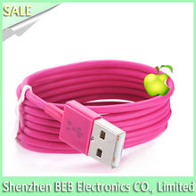 100% IOS 8 Genuine USB Data Sync Charger Cable For iPhone6 6 plus