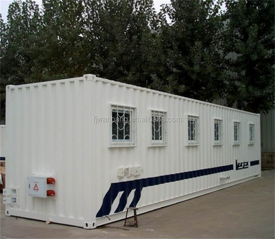 WANBANG Movable Mobile 20ft 40ft Shipping Container Housing