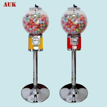 Capsule Toy Vending Machines With Stand/Pedestal Candy Gumball Machine