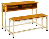 Bench with Backrest for School