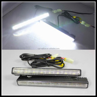Universal LED DRL for Mazda 8SMD LED daytime running light fog lights for Honda