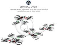 Christmas gift JJRC H36 Quadcopter Drone Mini One Key Return Long Range RC Helicopter 2.4G Remote Control Helicopter RC Airplane