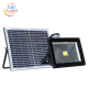 High power ip65 outdoor waterproof 50w solar flood light for billboard