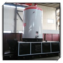 Coal and biomass fired chain grate stoker water tube low pressure thermal oil boiler