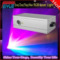 Professional DJ Lighting 1w / 2w / 3w / 4w RGB 3D Animation Laser Light Show
