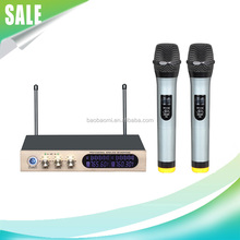 Microfone Professional S-15 Wireless Microphone With Reverb Tuning Karaoke Handheld Microphone