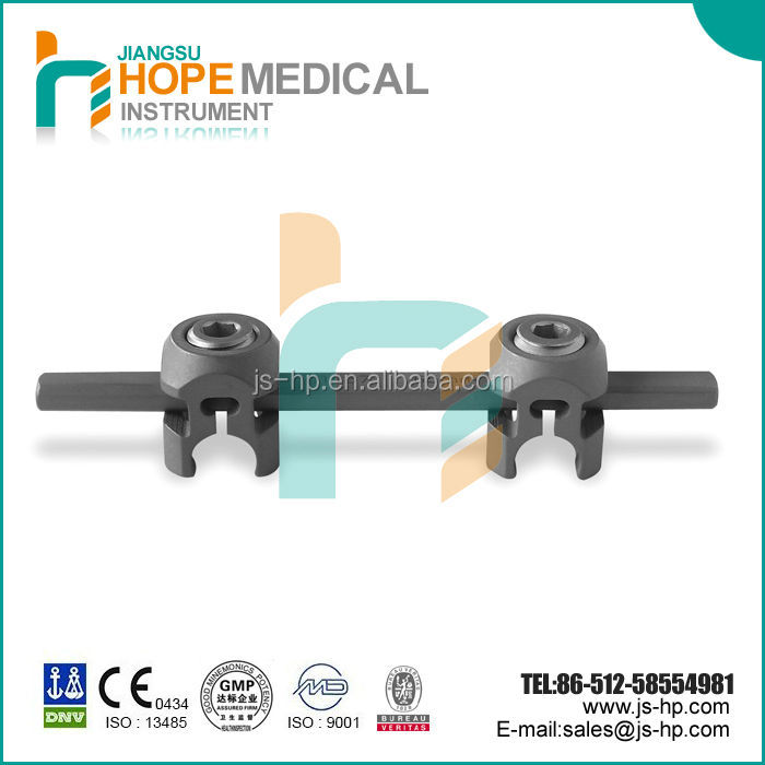 Trade assurance spinal fixation crosslink , titanium spinal fixation, spine fracture
