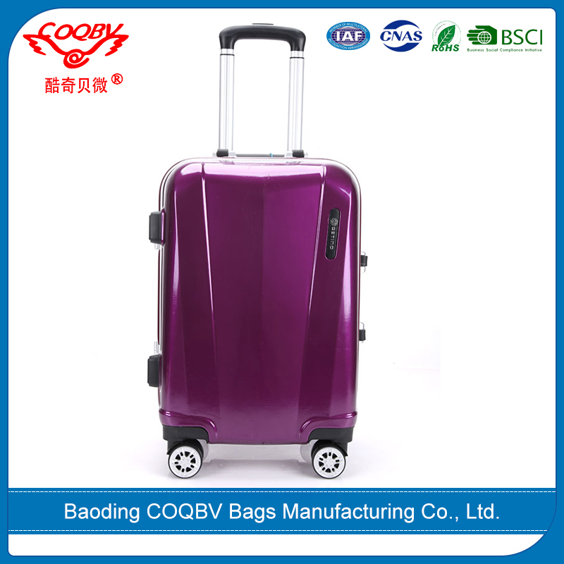 COQBV best selling high quality PC wholesale luggage distributors