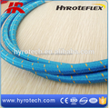 High Pressure R14/SS Braid teflon hose with fiber outer