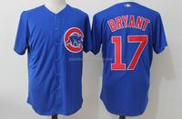 Men's Chicago Cubs Kris Bryant Royal Alternate Cool Base Jersey
