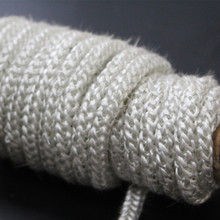 High Temperature Braided Square Fiber Glass Rope